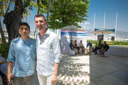 Chef Ali Jaimes, ganador del 2 Concurso de Joven Chef y Karim Djellit