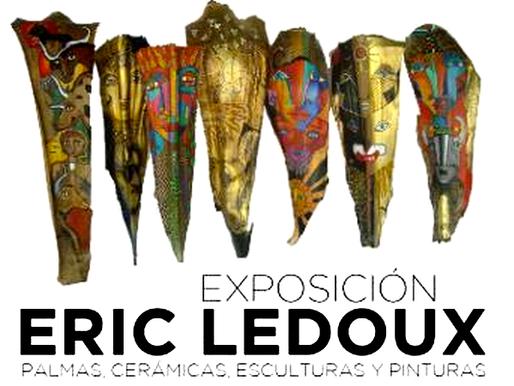 Eric Ledoux. Palmas, cerámicas, pinturas y esculturas en la Alianza Francesa de México