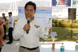Marco Antonio Cervantes del Consejo Regulatorio del Mezcal