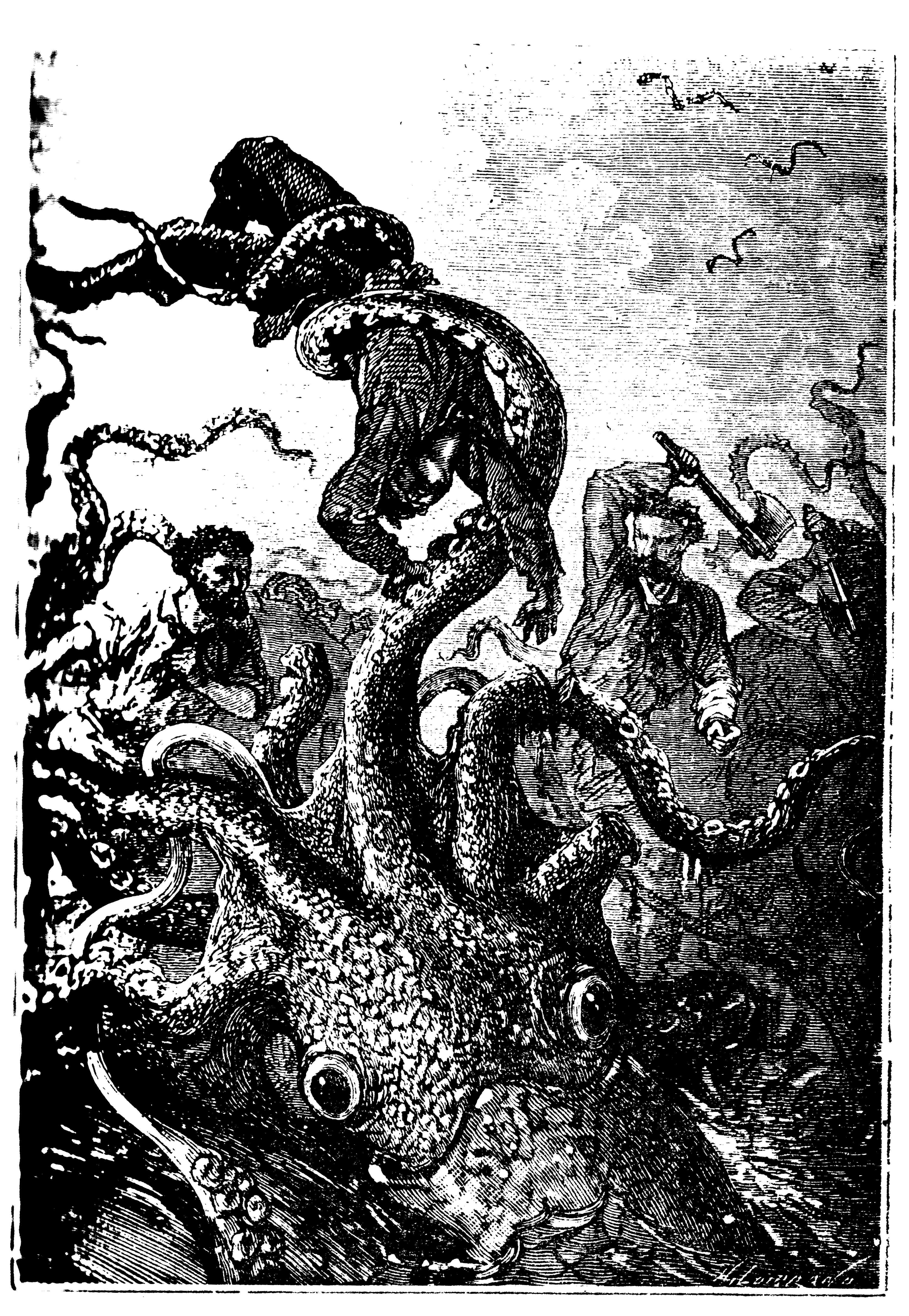 Le poulpe brandissait la victime comme une plume - Vingt mille lieues sous les mers.jpg