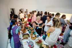 Coctel con cocineras tradicionales
