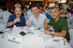 Arturo Gutirrez, Karim Djellit y Sergio Coronado