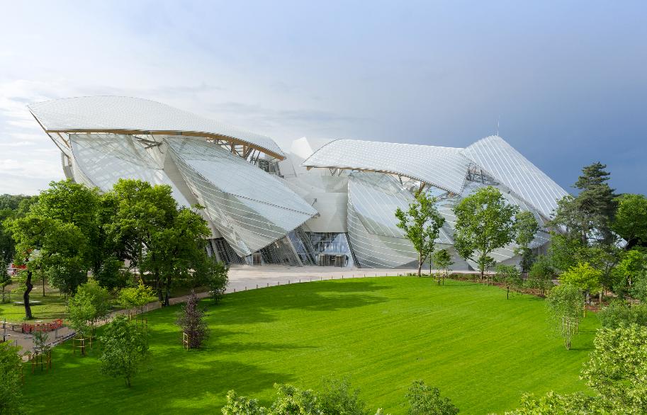 La Fundación Louis Vuitton