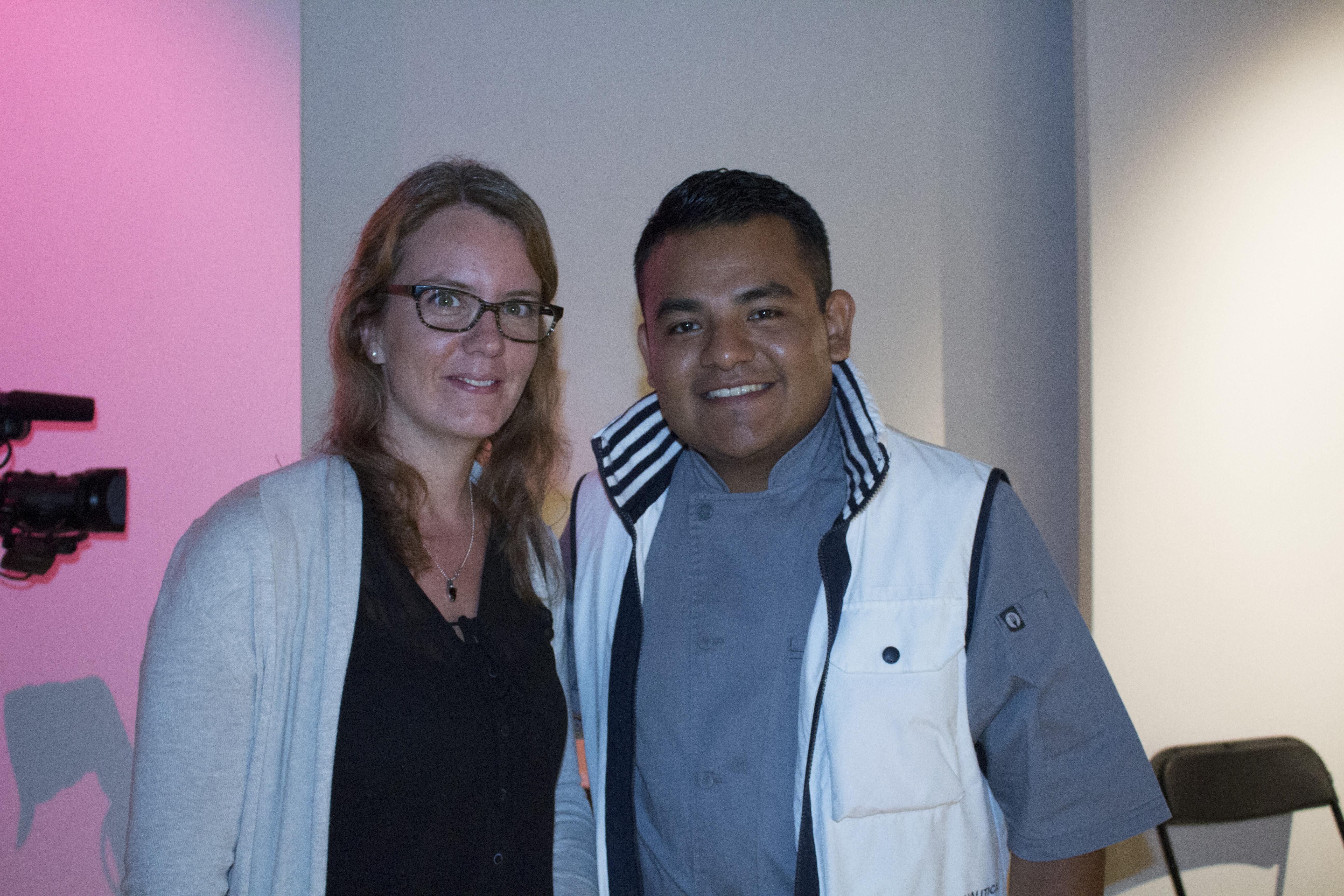 Florence Roy-Allard y Javier Reynada