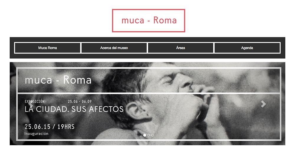 Museo Universitario de Ciencias y Arte, MUCA Roma