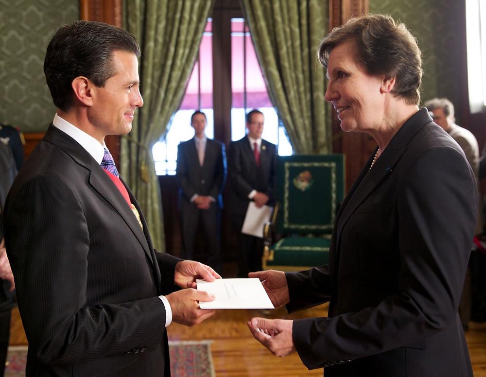 Peña Nieto Maryse Bossière
