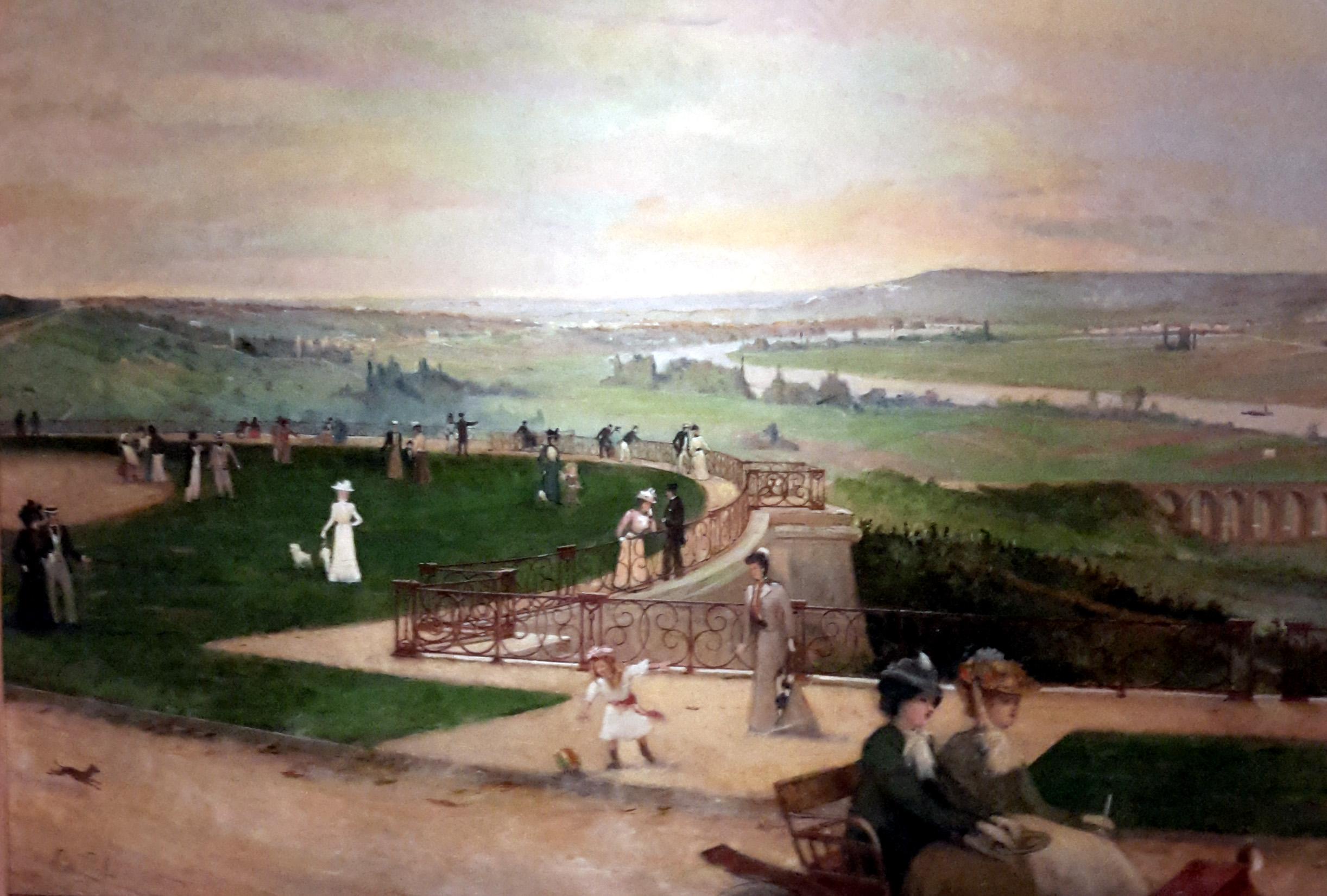 Panorama de la terraza de Saint Germ