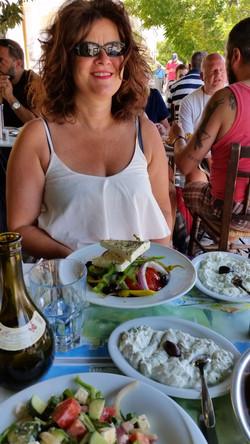 Nach dem Segelcoaching in Athen