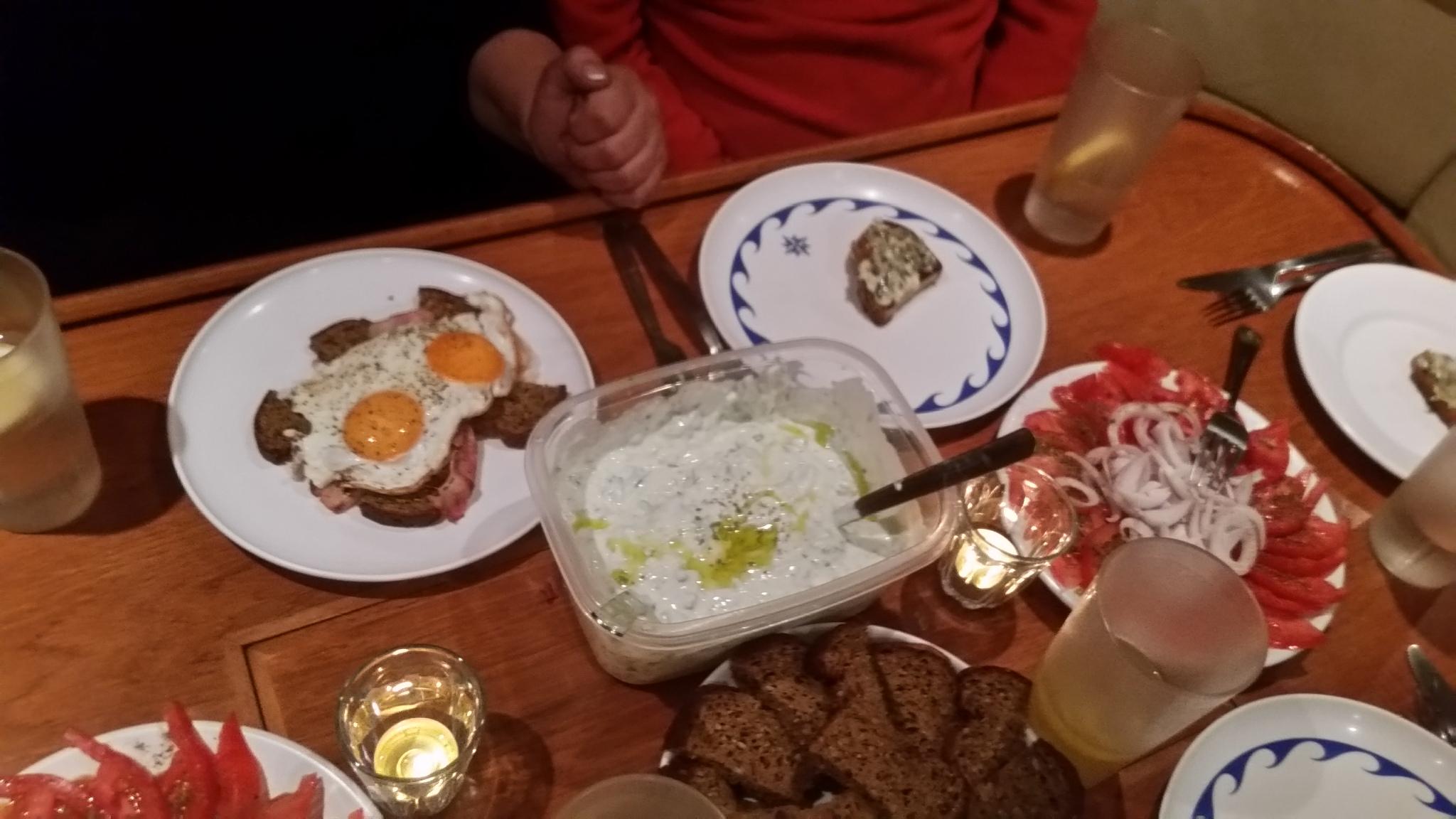 ein kulinarischer Törn