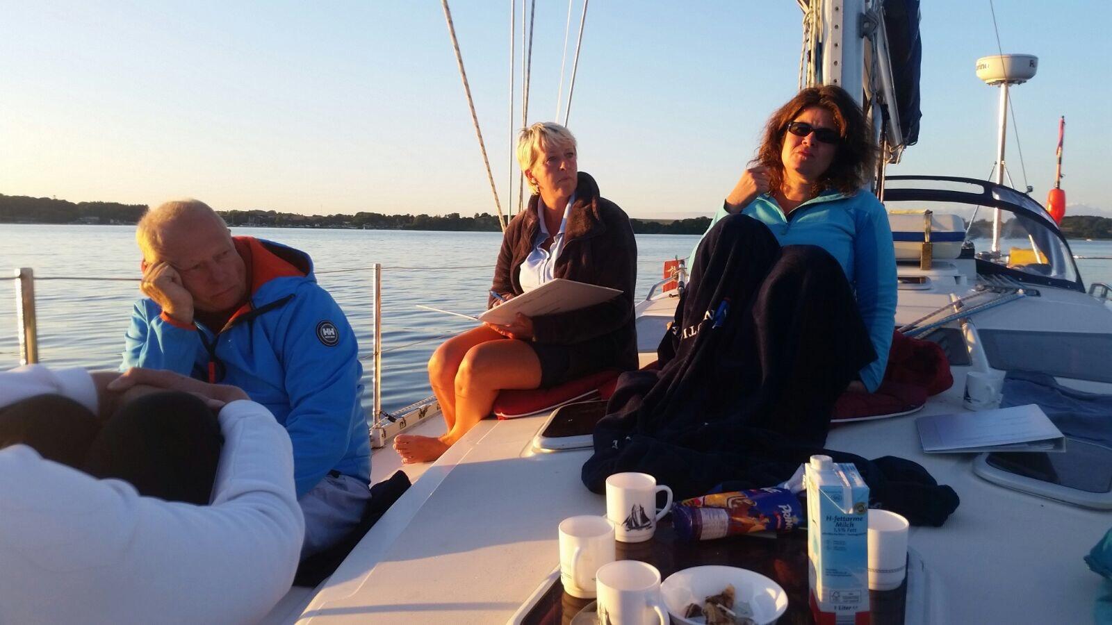 Coaching am Vorschiff