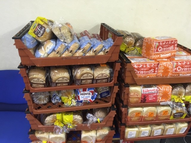 528 loaves of bread
