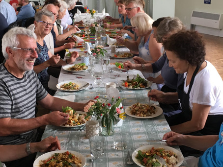 Why not try out a community meal?