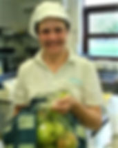 banner caroline webb at the hospice with