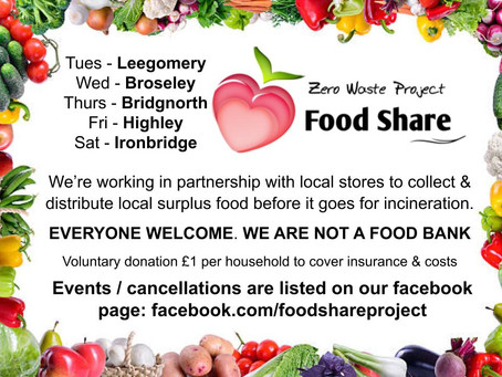New food sharing project in Shropshire
