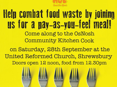 New Community Meal in Shrewsbury