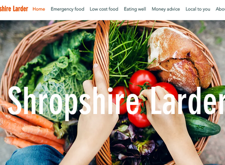 Shropshire Larder website launched to help people in food poverty
