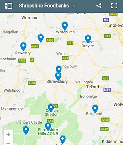Crisis Support Food Poverty Shropshire