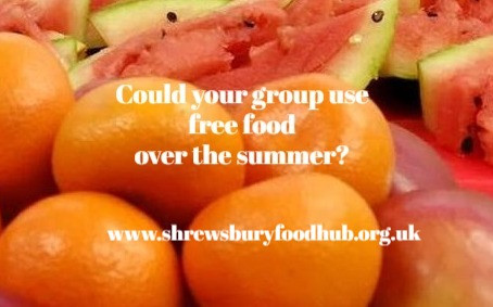 Could your group use food over the summer?