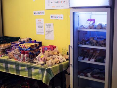 The new cool.   Shrewsbury's first community fridge opens