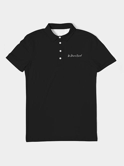 Live Forever Brand BlackOut Men's Slim Fit Short Sleeve Polo
