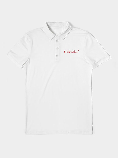 WhiteOut Men's Slim Fit Short Sleeve Polo