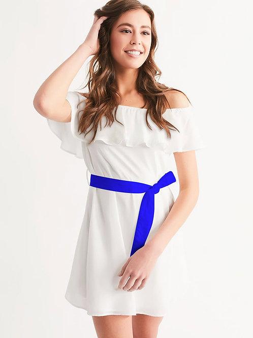 WhiteOut Women's Off-Shoulder Dress