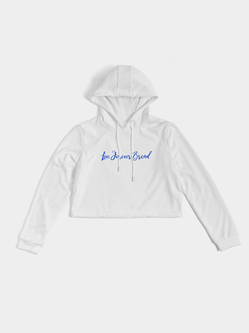 WhiteOut Women's Cropped Hoodie