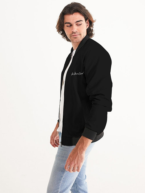 Live Forever Brand BlackOut Men's Bomber Jacket