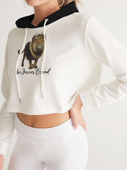 Lion King Women's Cropped Hoodie