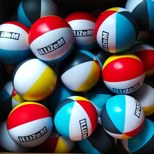 illiZem Beach style stress balls