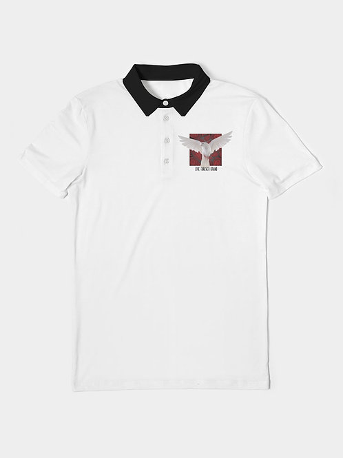 Rise Above Men's Slim Fit Short Sleeve Polo