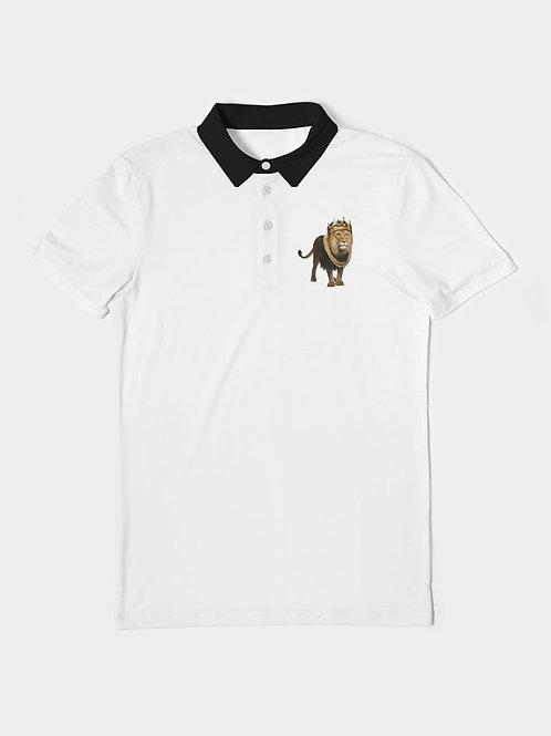 Lion King Men's Slim Fit Short Sleeve Polo