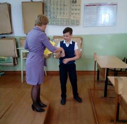 Архангельская область, г. Вельск, МБОУ СШ №2 Г.Вельска