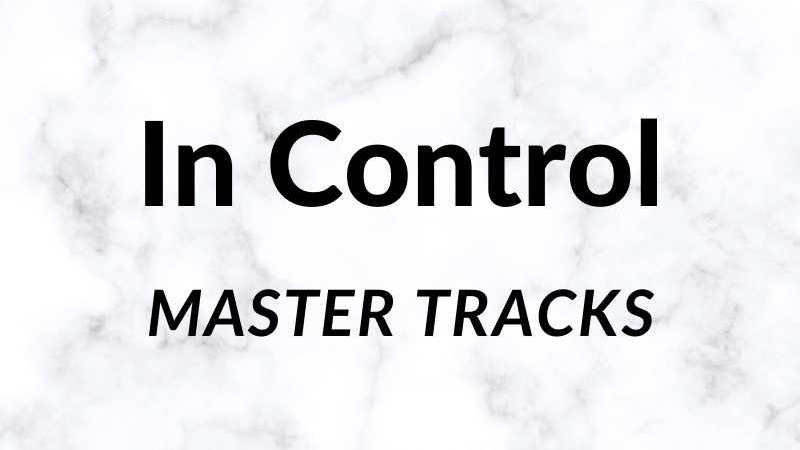 In Control Master Tracks Key of G 71.5 BPM