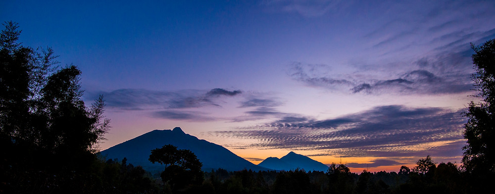 Volcanoes National Park peaks, Rwanda - Trai Anfield