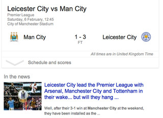 What Has Leicester City FC Got To Do With Photography?