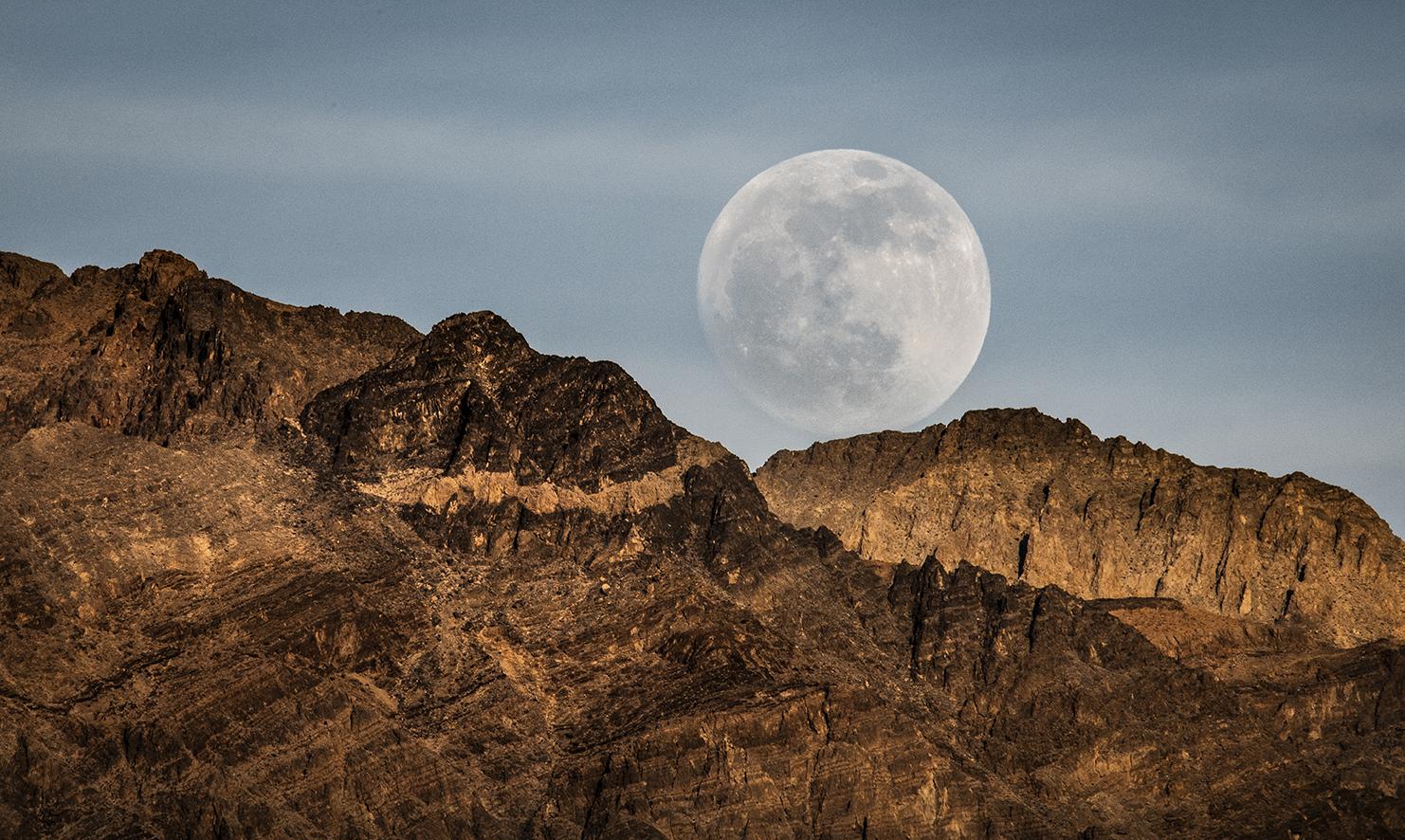monrise Zabriski's Point Death Valley-68