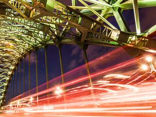Tyne by night