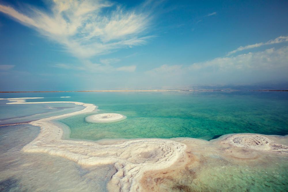 Jordan Photography Tour | Trai Anfield Photography Safaris | Dead Sea Detail