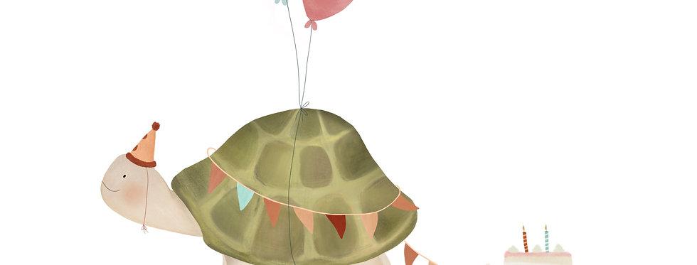 Schildpad Poster