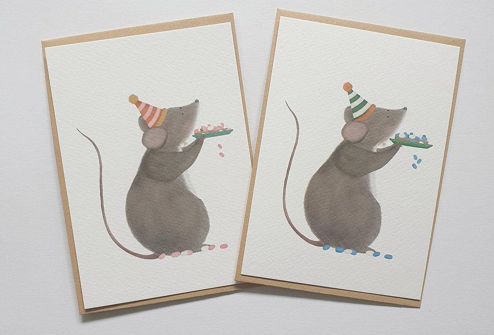 Muis met muisjes
