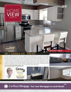 HomeView Magazine Cover Image