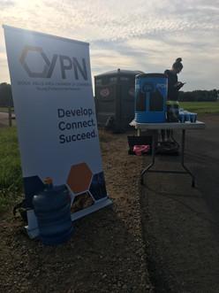 YPN Marathon Water Station