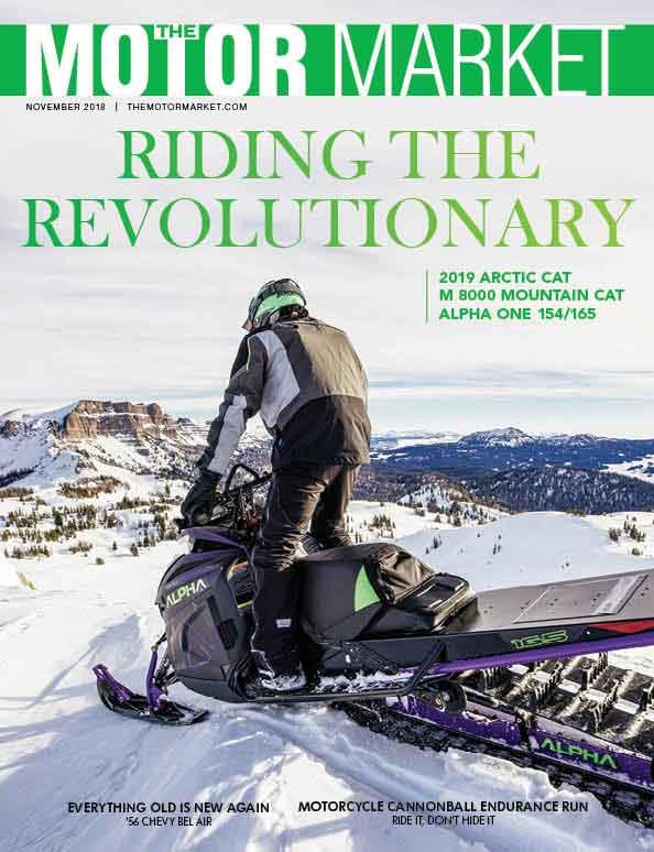 The Motor Market Magazine Cover