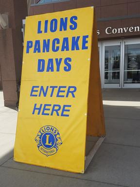 Volunteering at Pancake Days Image