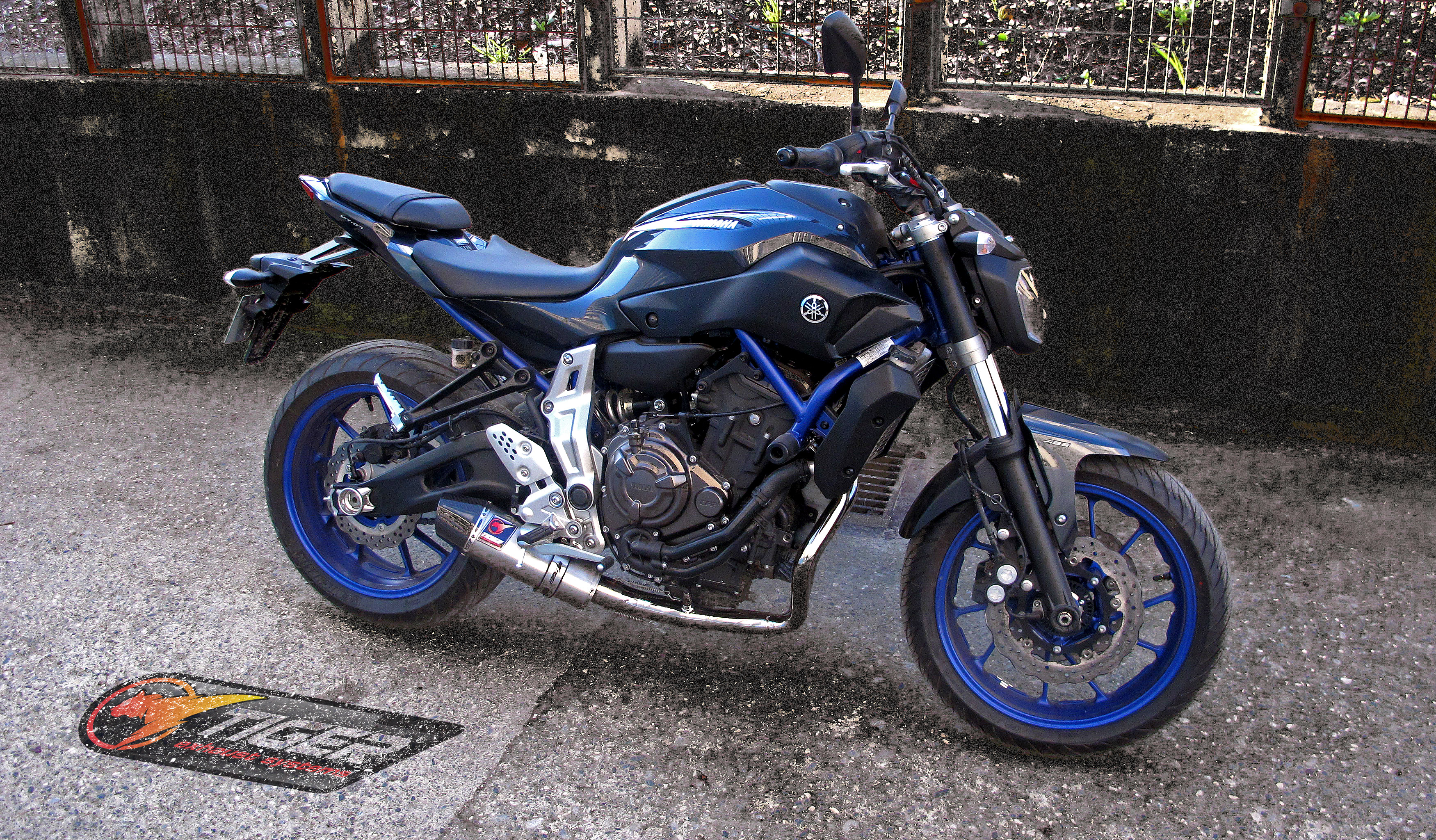 Yamaha MT07 Exhaust System