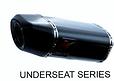 us-800 us-780 aftermarket carbon fiber exhaust for yamaha honda suzuki kawasaki hyosung tvs sym