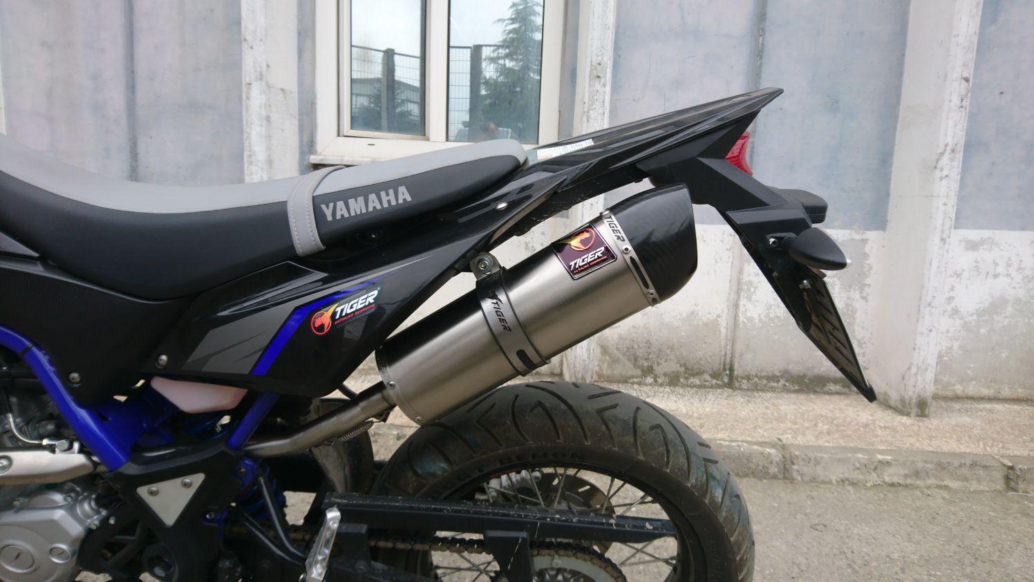 YAMAHA WR 125 EXHAUST