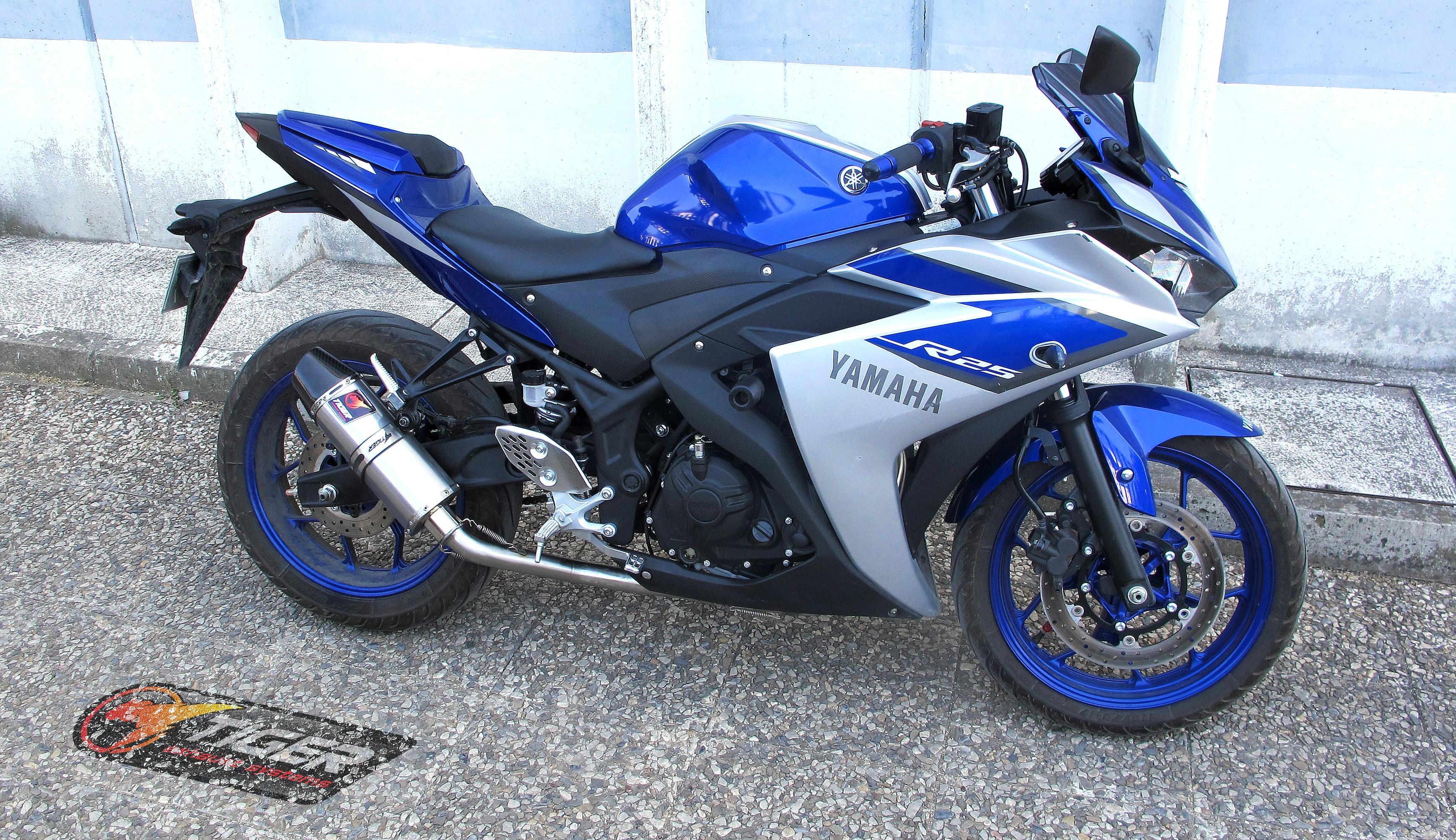 Yamaha YZF R3 FULL SYSTEM TRI780