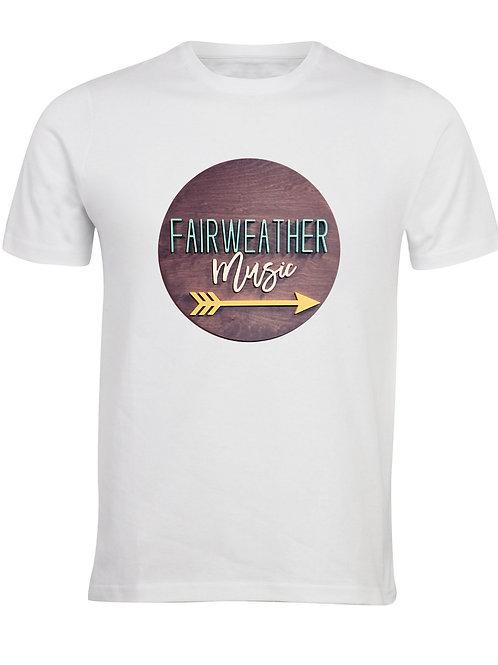FAIRWEATHER MUSIC T SHIRT MENS